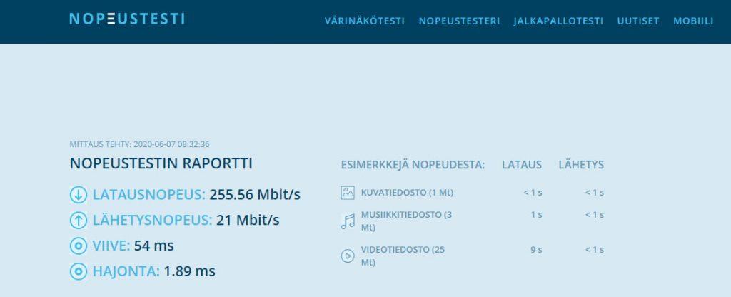 Express VPN nopeus testattuna suomessa