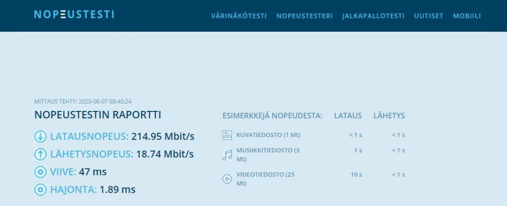 Fsecure freedome  VPN nopeus testattuna suomessa